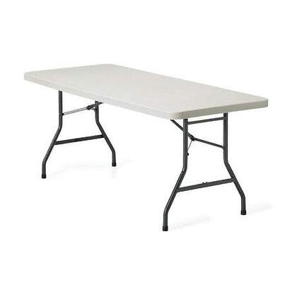 Plastic 6' Folding Table