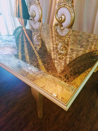 Gold Marbled Christina Table