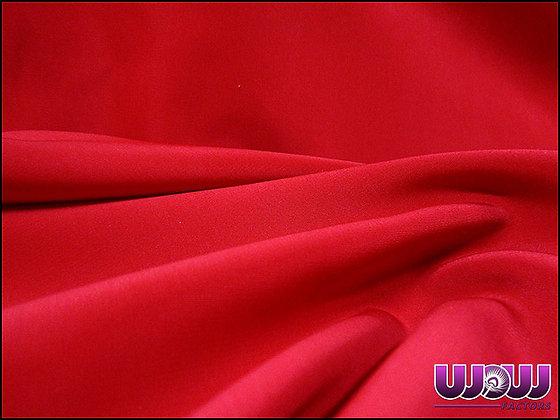 Red Poly Drape