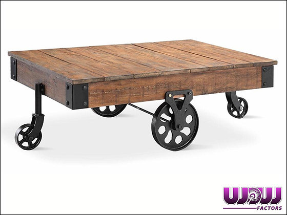 Warehouse Reclaimed Cart Coffee Table