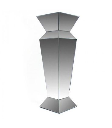 "36"" Mirrored Geo Column"