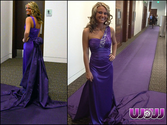 Living Purple Carpet