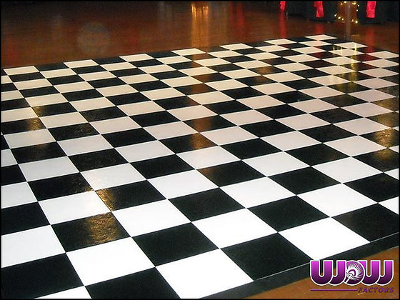 Slate Checkered Modular Dance Floor