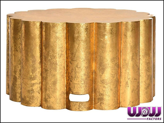 """Gold Stump"" Coffee Table"