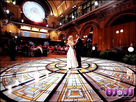 Branded & Monogrammed Dance Floors
