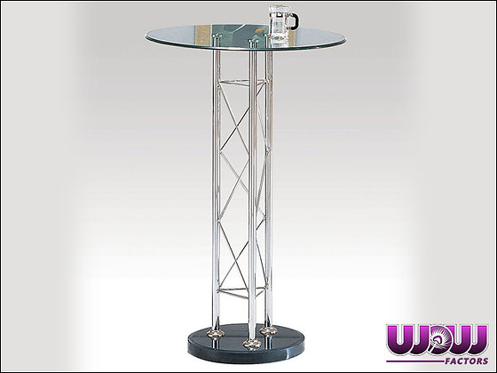Truss & Glass Cocktail Table