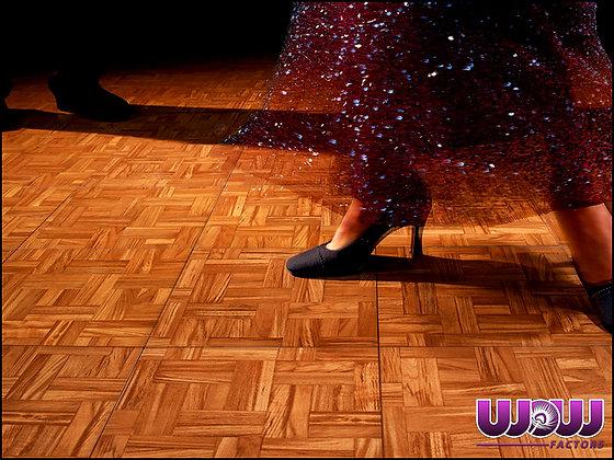 Teak Modular Dance Floor