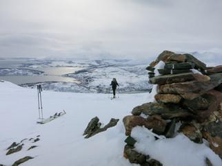 Skitour auf Rødtinden