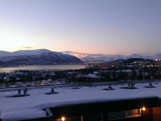 Ankunft in Tromsø