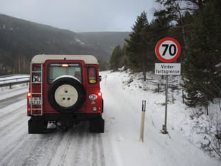 Passstrasse nach Trondheim