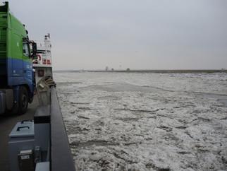 Elbe-Überfahrt