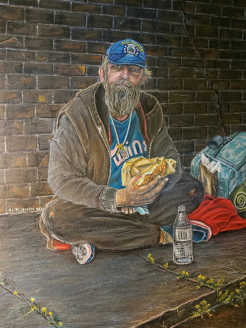 """Homeless in America/Air Force"" by Thom Priemon"