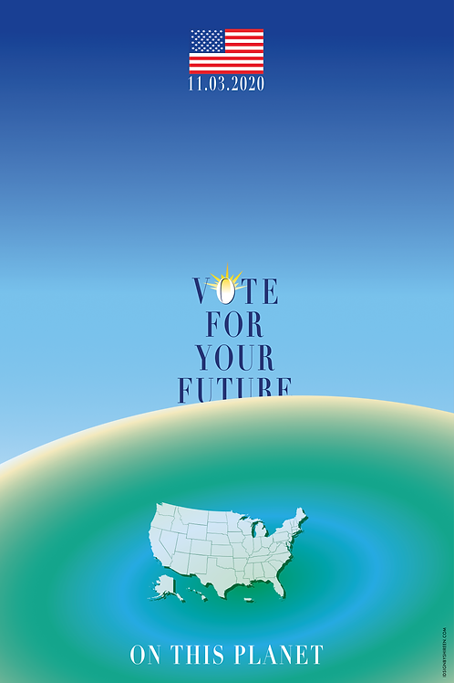 """The Year of the Pandemic - Vote for your Future"" by  Maria ShireenThomas"