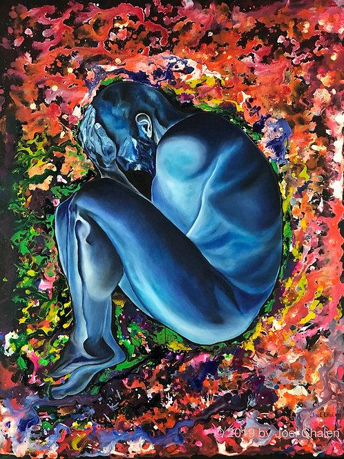 """""""Blue Boy"""" by Joel Chalen"""