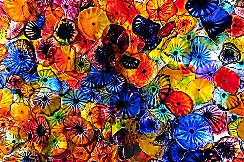 """CURE - Revitalized Cells Celebrating Life"" by Trish Zimbalatti"