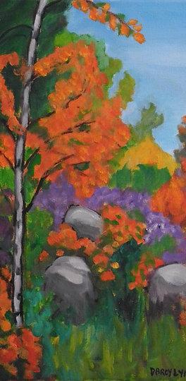 """""""BBG, Fall, Hillside"""" by Darcy Lynn"""