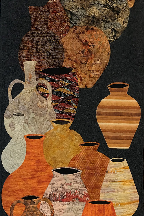 """Clay Treasures:  Black Earth Ocher"" by Cheryl Hurd"