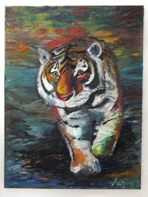 """""""Roaming Tiger"""" by Missy Buetow"""