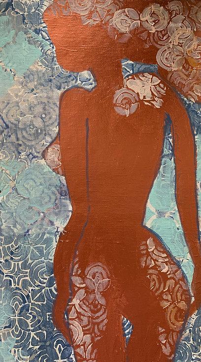 """Bronze Silhouette"" by Erin Starr"