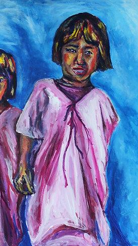"""Two Girls"" by Katherine Grace Piera"