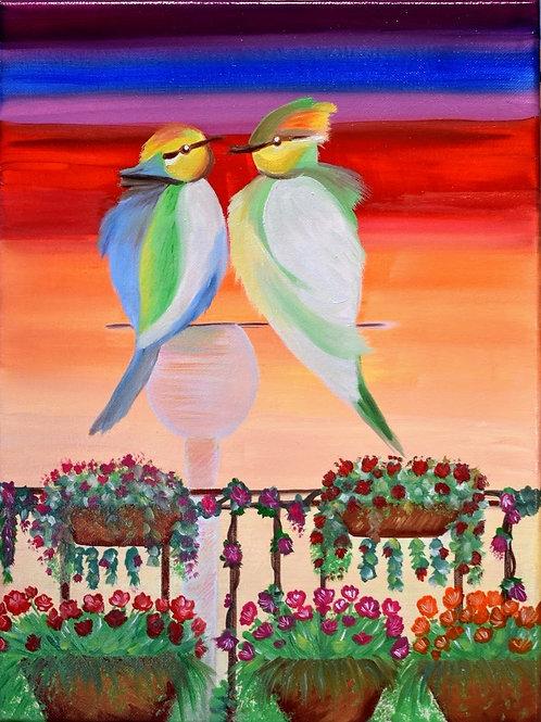 """""""Love On My Balcony"""" by Areej Alqaysi"""