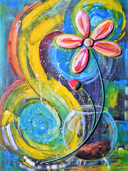 """Inner Joys"" by Sherridean Skeete"