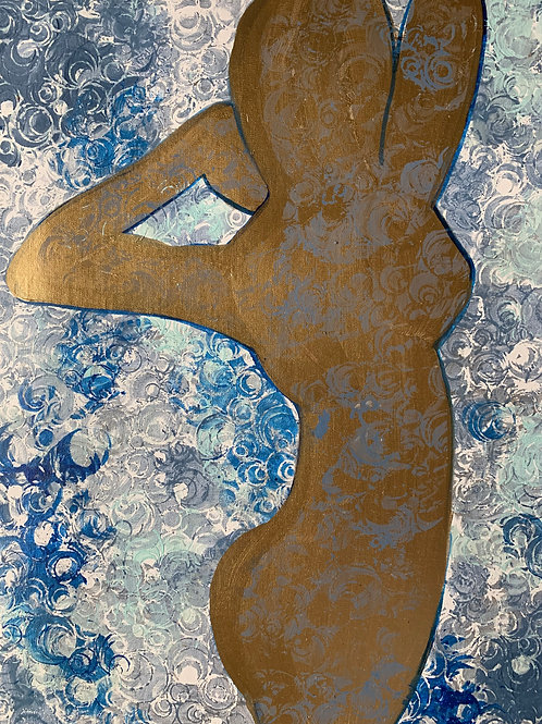 """""""Gold Silhouette"""" by Erin Starr"""