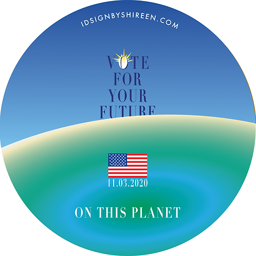 """""""The Year of the Pandemic - Vote for your Future"""" by Maria Shireen Thomas"""
