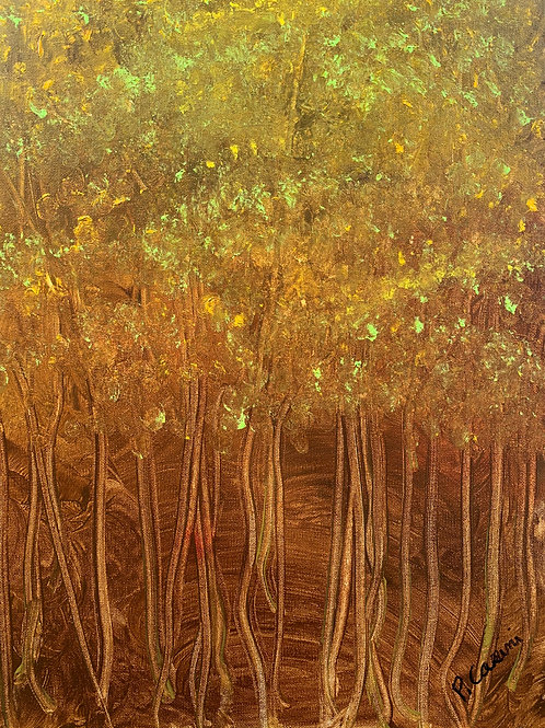 """""""Autumn Trees"""" by Peter Casini"""