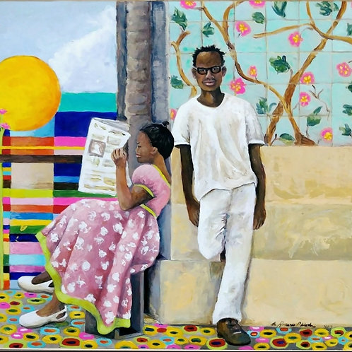 """The Color Palette That Unites Us No Matter What"" by Rosario Weston"