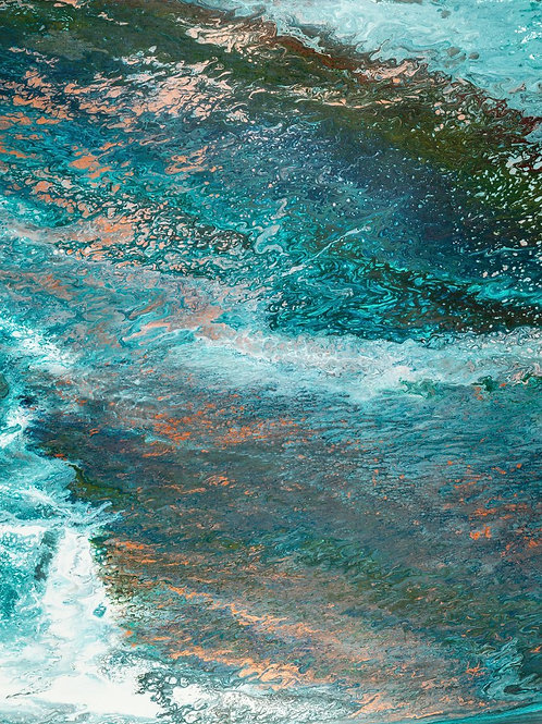 """Glacier Meltdown"" by Terrance Longtin"
