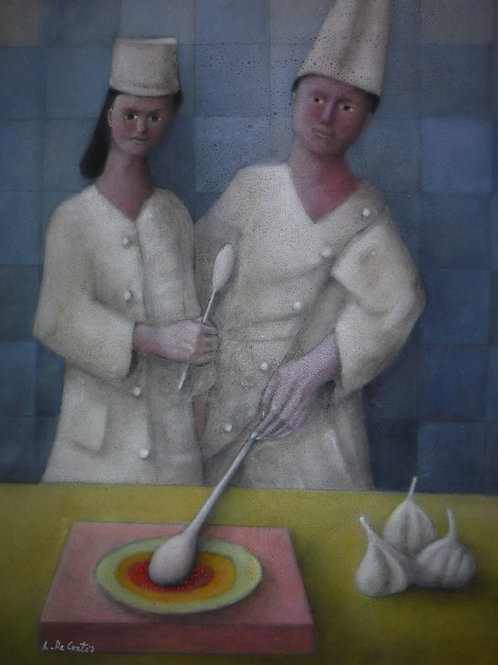 """""""2 Cooks"""" by Alfredo DeCurtis"""