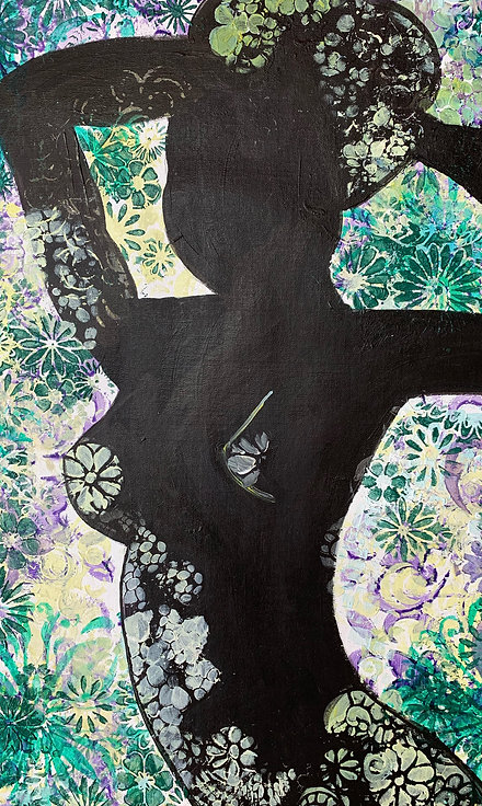 """Silhouette in the Garden"" by Erin Starr"