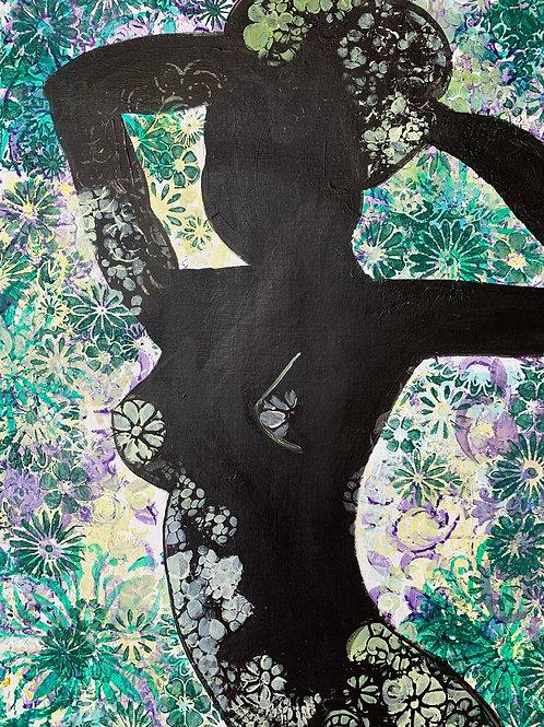 """Silhouette in the Garden"" by Erin Starr"