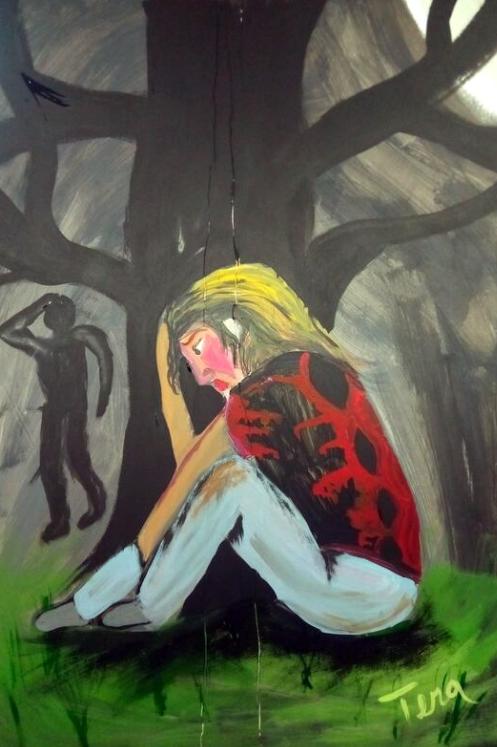 """Hiding"" by Tera Nicole Hurst"