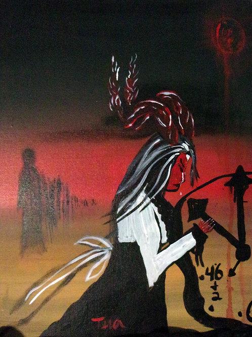 """Stepping Through my Shadow"" by Tera Nicole Hurst"
