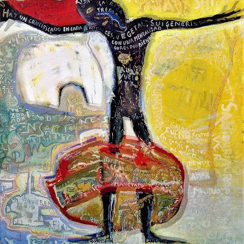"""""""Atlas Was Also Black"""" by Elena Gastón Nicolás"""