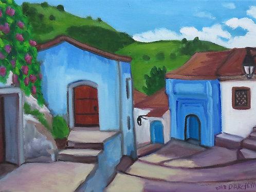 """Chefchaouen #2, Morocco"" by Darcy Lynn"