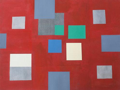 """""""Red Maze #1"""" by Carolyn Conrad"""