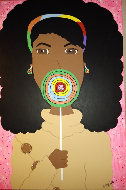 """Lollipop"" by Emberly Joi Zellars"