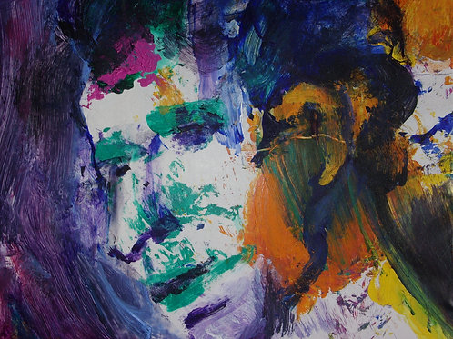 """Head of a Man"" by Stephen Perrone"