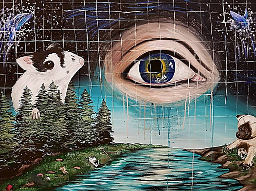 """Eye Spy A Dream Land, Part 2"" by Brianne Casey"