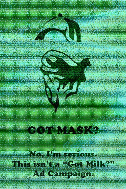 """""""Got Mask"""" by Jonathan Butler"""