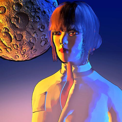 """Moon Girl"" by Alex McKelley"