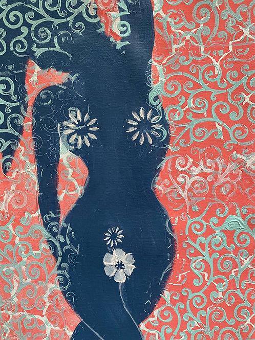 """Blue Silhouette"" by Erin Starr"