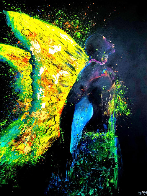 """""""M.E. - Maturation Embodied"""" by Cary Michael Robinson"""