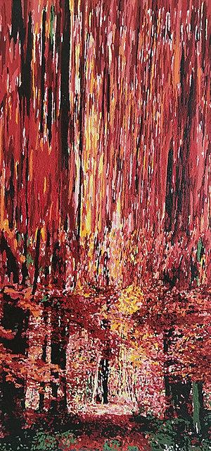 """Autumn Abstraction (no2)"" by Shahryar Medi"