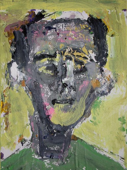 """""""Man Looking Askew"""" by Stephen Perrone"""