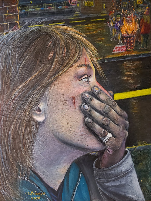 """""""Homeless in America/Covid 19"""" by Thom Priemon"""