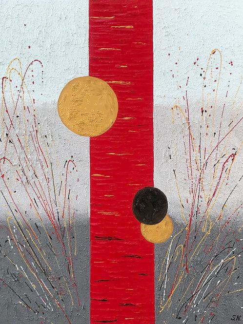 """Gold Moon"" by Svetlana Nelson"
